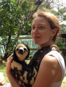me with sloth 1