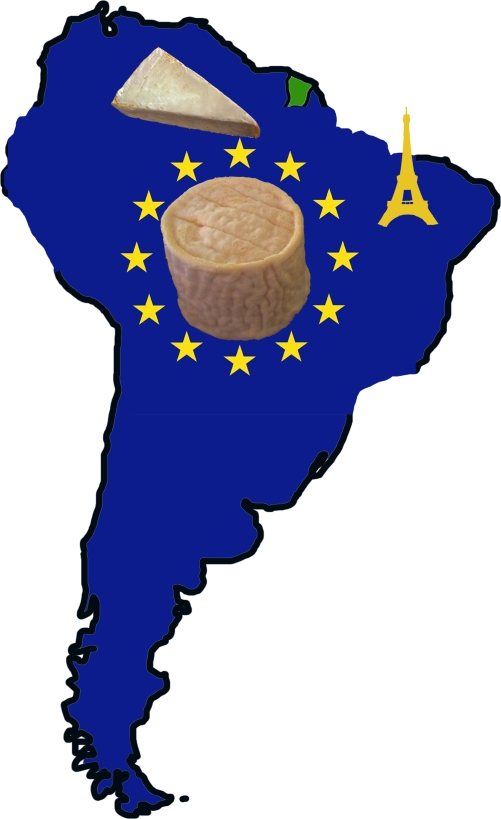 south america as europe