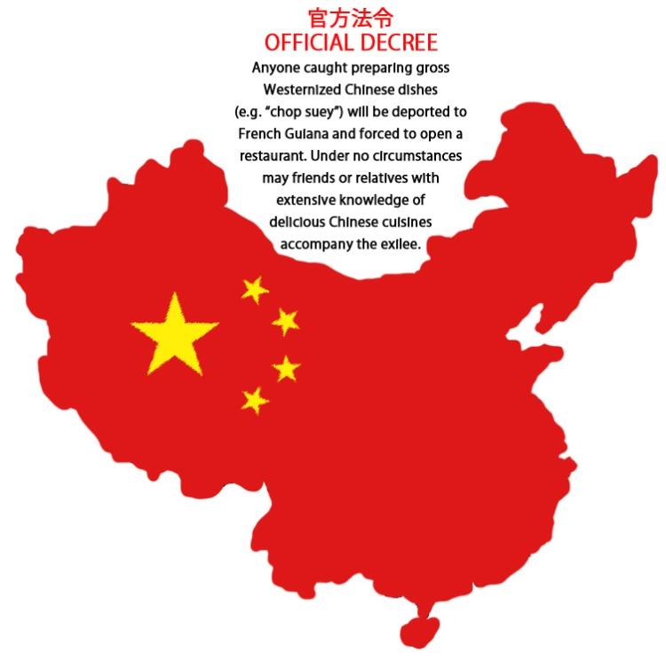 chinese decree